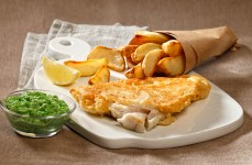Riba s krumpirićima (Fish and Chips)
