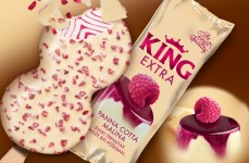 King Extra Panna Cotta Raspberry