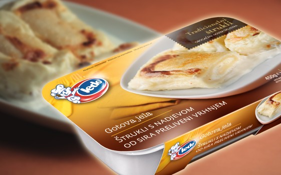 Zagorje Strudel with Cheese and Cream