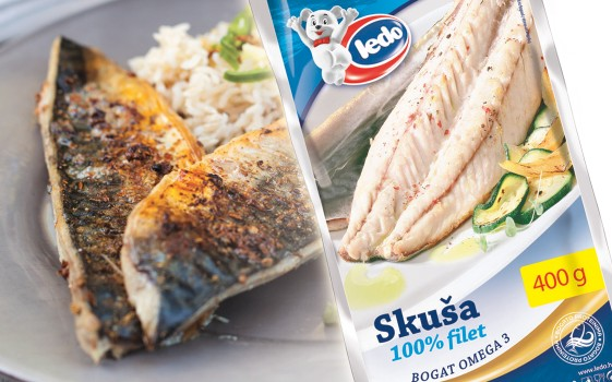 Skuša filet