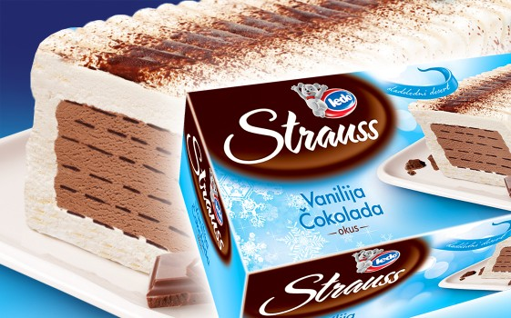 Strauss Vanilla - Chocolate