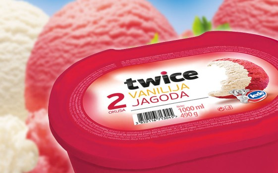 Twice Croatia (Vanilla - Strawberry)