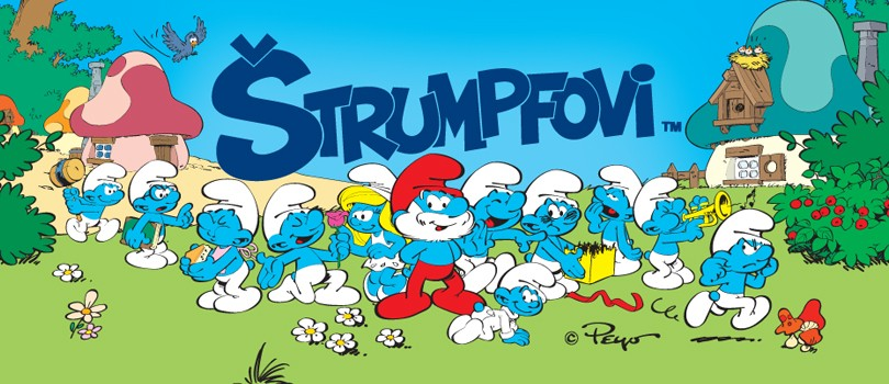 Let's Smurf together – Hang out with the Smurfs in the Smurf Village throughout Croatia!
