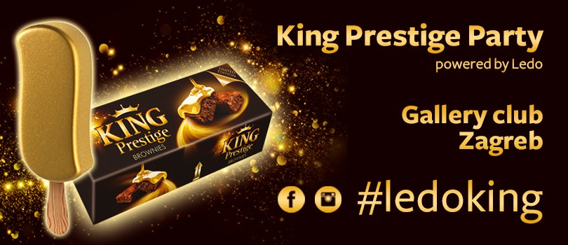Gallery Club -  King Prestige party powered by Ledo