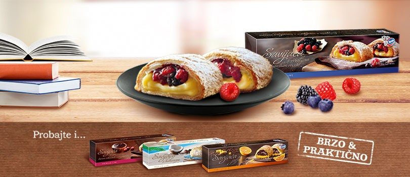 Everything is possible with Ledo pastries: Ledo strudel – an ideal choice for a sweet tooth!