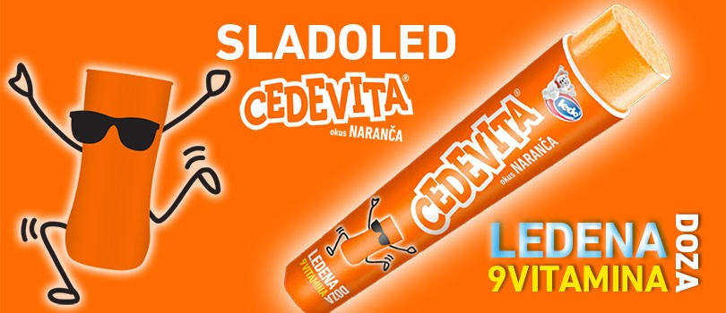 Ledo and Cedevita have prepared a unique ice cream for this summer!