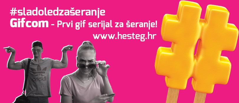 Hešteg (Hashtag) Ice Cream–We have the first international GIFcom!