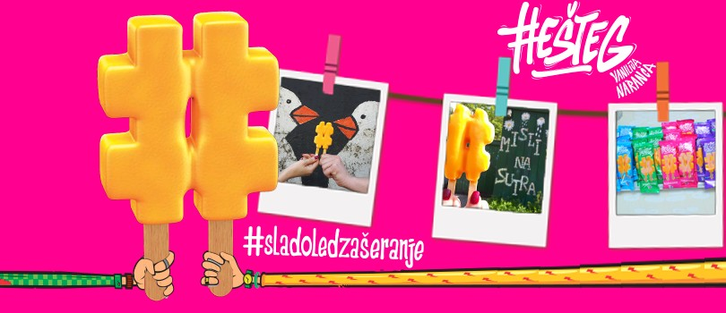 LedoHešteg [Hashtag]is the ideal #icecreamtoshare!