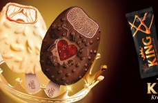 Two new magnificent King ice creams – King Love and King Caramel Adventure – are opposites that attract.