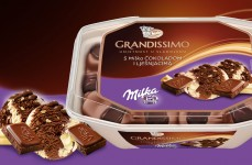 Grandissimo with Milka Chocolate and Hazelnuts