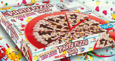 Party pizza cake