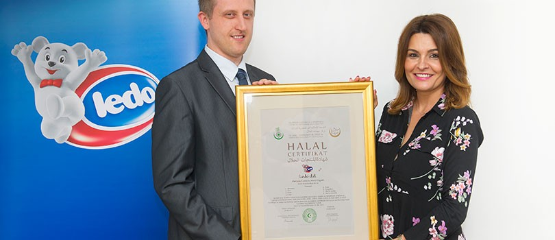 Ledo becomes a proud holder of the Halal certificate